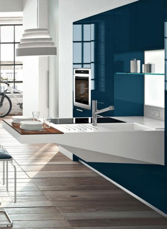 Smart And Elegant Kitchen For Small Spaces