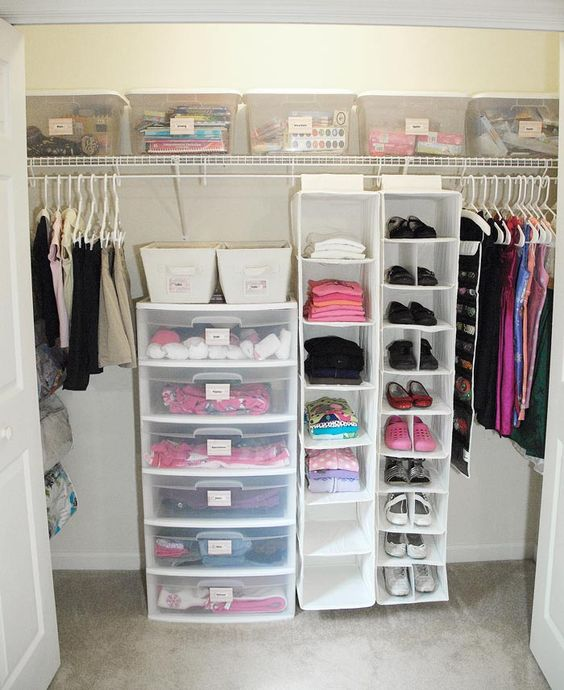 Picture Of smart and fun kids clothes organizing ideas  16