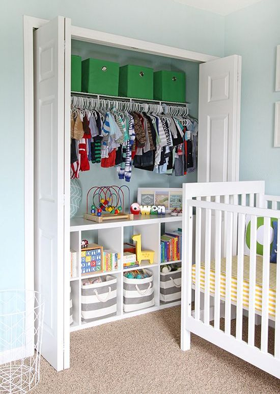 ddebf0e421c 37 Smart And Fun Ways To Organize Your Kids  Clothes - DigsDigs