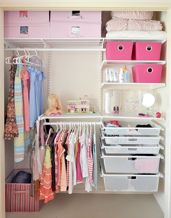 Picture Of smart and fun kids clothes organizing ideas  30