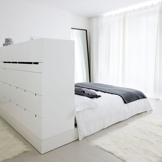 Smart storage bed is a must have if you care about decluttering your bedroom.