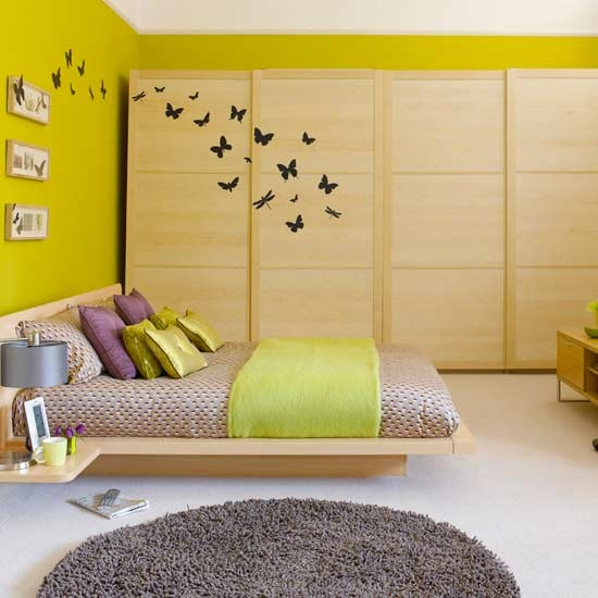 Wall decals is a perfect way to make your wardrobes look cooler and blend in better.