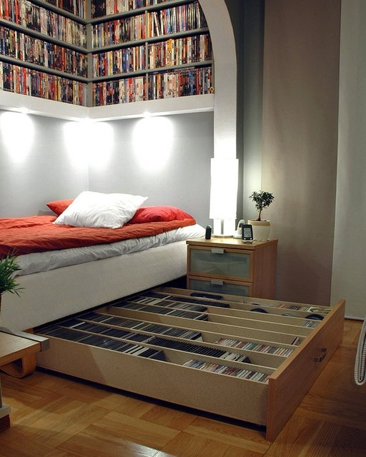 Small Bedroom Big Heart And Lots Of Storage: 57 Smart Bedroom Storage Ideas