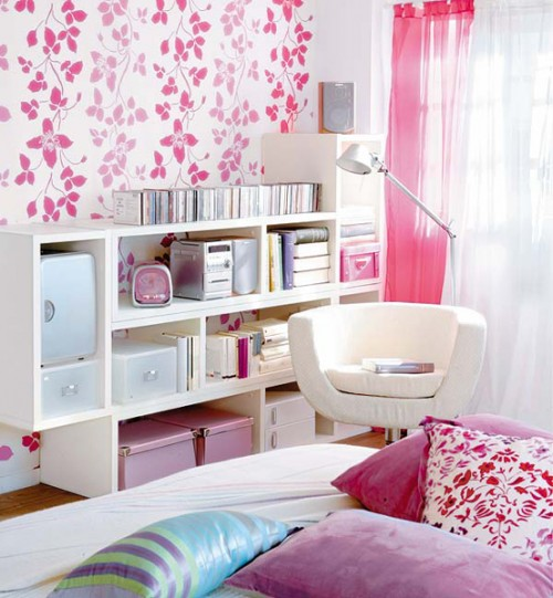 Simple office-like storage units could become your bedroom's storage solution if you install them in unusual way.