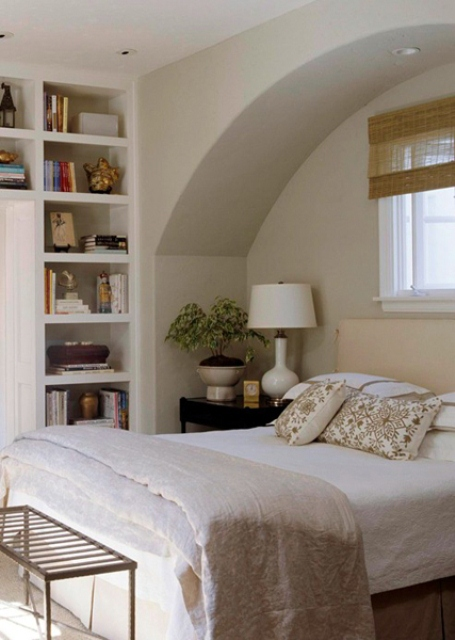 Built-ins are as useful in a bedroom as in any other room.