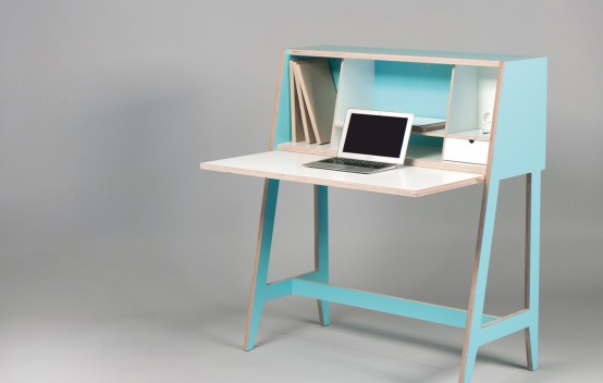 Smart Cabinet-Desk For At-Home Workers