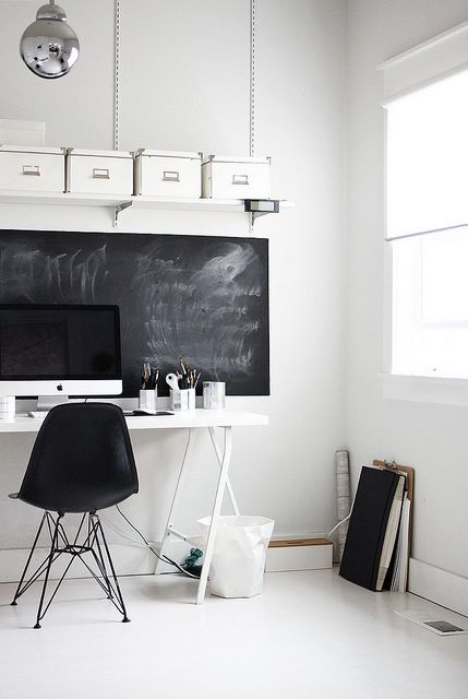32 smart chalkboard home office d 233 cor ideas digsdigs the smart home decor not just another home decor site