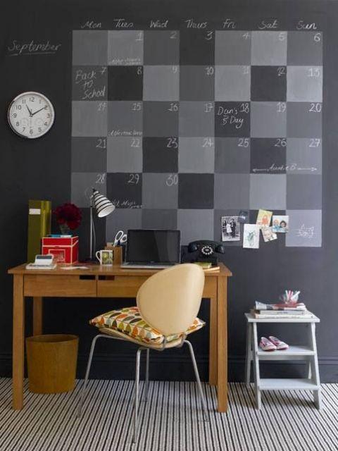 32 smart chalkboard home office d 233 cor ideas digsdigs smart bathroom decorating ideas home decor