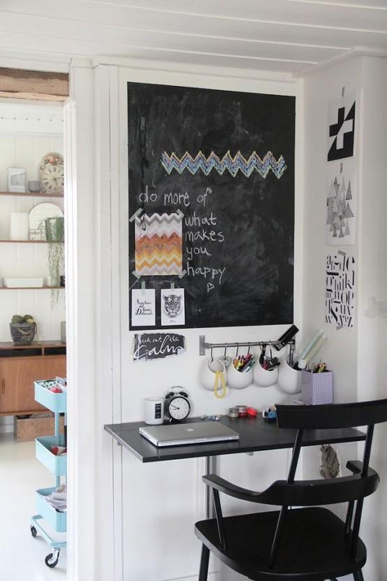32 smart chalkboard home office d 233 cor ideas digsdigs 32 smart chalkboard home office d 233 cor ideas digsdigs