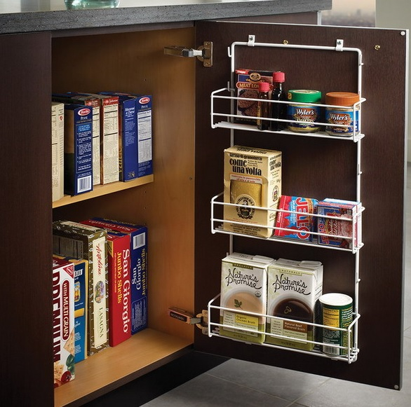 Picture of smart concealed kitchen storage space - Smart storage for small spaces pict ...