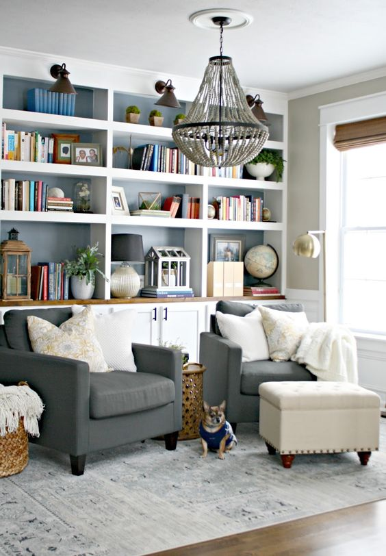 37 smart ideas to organize your books at home digsdigs for 10x11 room layout
