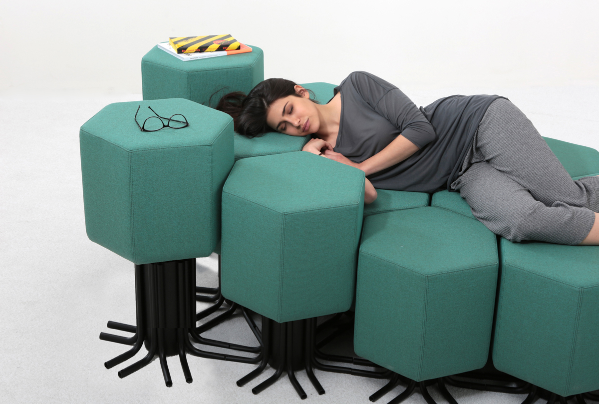 Picture Of smart lift bit sofa that can be raised or lowered  1