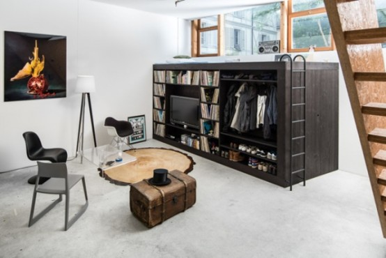Smart Living Cube Storage For Tiny Apartments