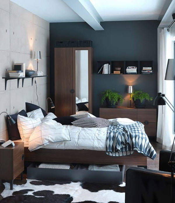 33 Smart Small Bedroom Design Ideas