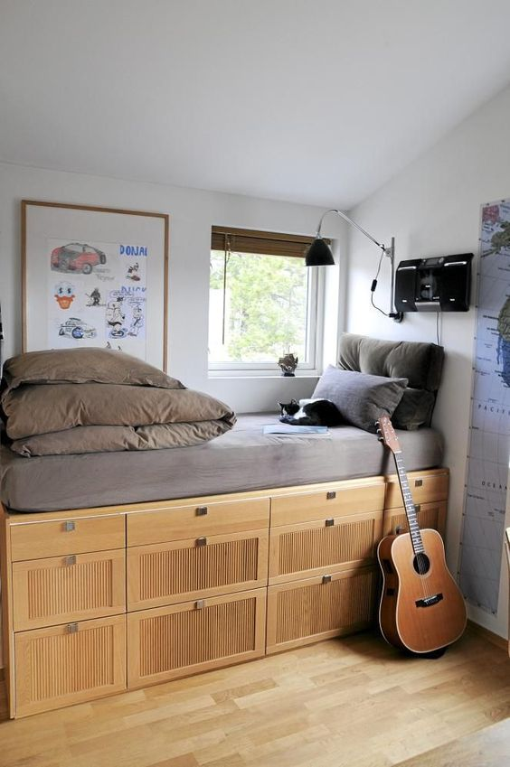 Picture Of smart storage beds that wont spoil your interior  14
