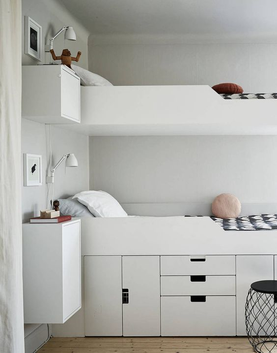 a minimalist white bed with storage compartments and drawers is a lovely piece for a modern space and the compartments are comfy to use