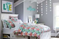 an elegant white bed with open storage compartments and drawers is a stylish solution for a small bedroom in any style