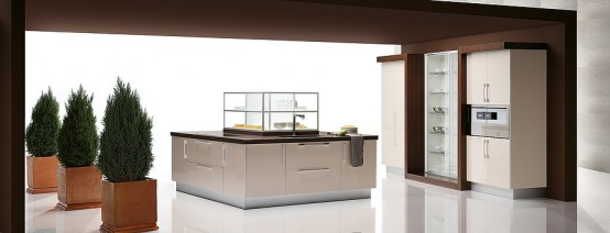 Quatro Gloss – Large Kitchen with Smart Storage Solutions