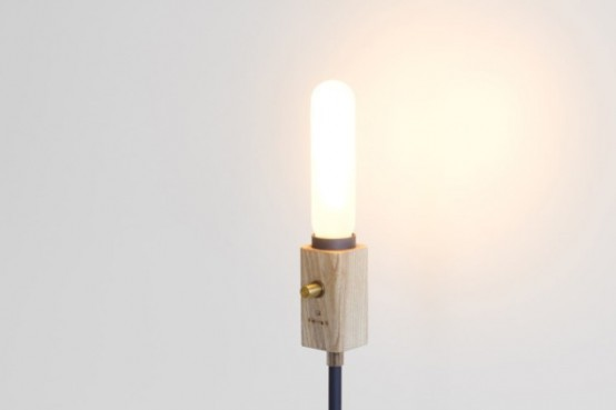 Smart Wall Lamp With Industrial Design Wald Plug Lamp