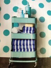 IKEA Raskog for a bathroom