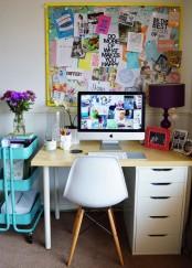 IKEA Raskog cart can store home office supplies