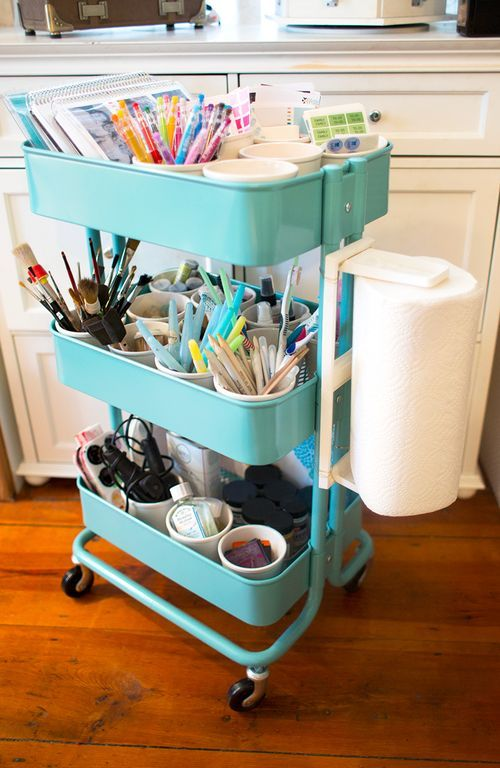 Smart Ways To Use Ikea Raskog Cart For Home Storage Digsdigs