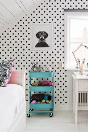 IKEA Raskog can become a makeup and knitting organizer