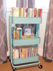 IKEA Raskog cart to store books