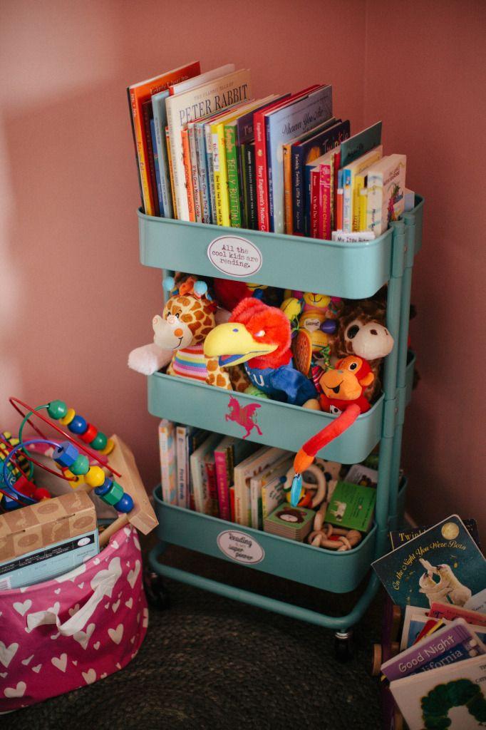 IKEA Raskog cart to store kids stuff