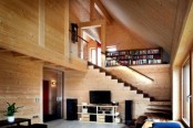 Smart Wooden House Built With Beech Wood Plugs