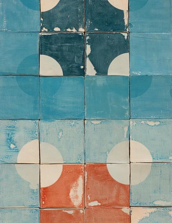 Smink Tiles Made Using Wabi Sabi Principles