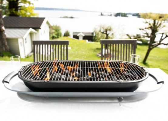 Social Barbecue For A Convivial Atmosphere At Parties