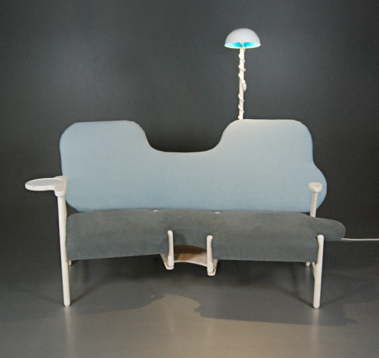 Sofa Portraying A Human's Life