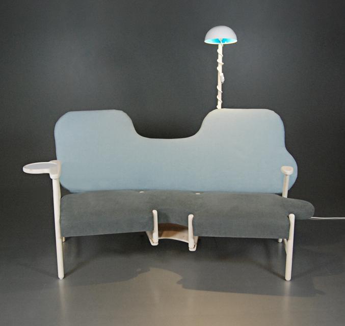 Sofa Portraying A Human's Life