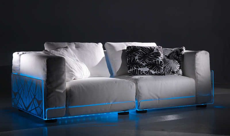 versatile sofa with built in mood led lights asami light sofa by colico digsdigs. Black Bedroom Furniture Sets. Home Design Ideas