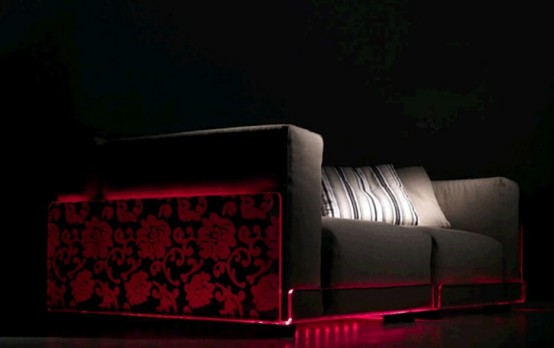 Sofa With Led Lights