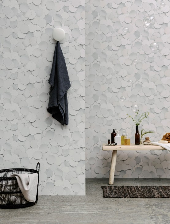Soft And Minimal Wallpaper Collection With A 3D Look