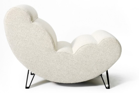 Soft Cloud Shaped Modern Chair