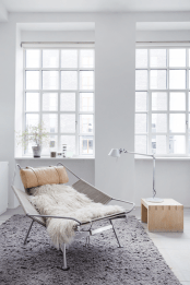 Soft Industrial Loft Decorated With An Exquisite Taste