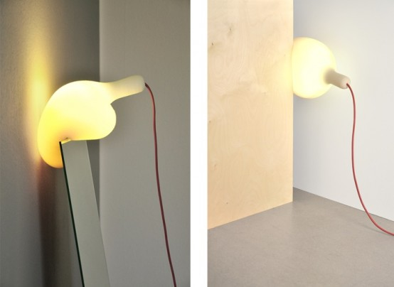 Soft Lamp By Simon Frambach - A New Light Concept - DigsDigs