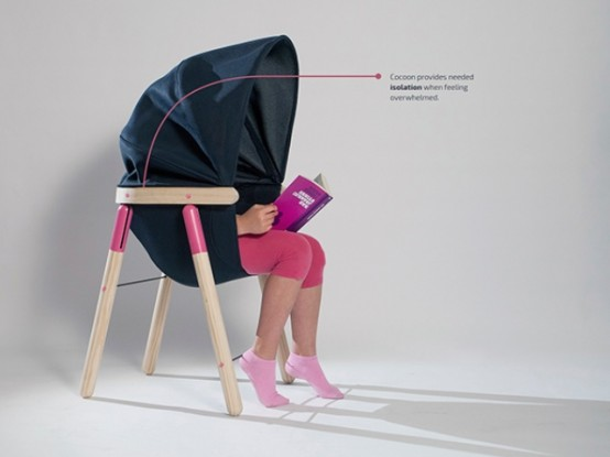 Soothing Chair Stylish Sensory Seating For Kids Digsdigs