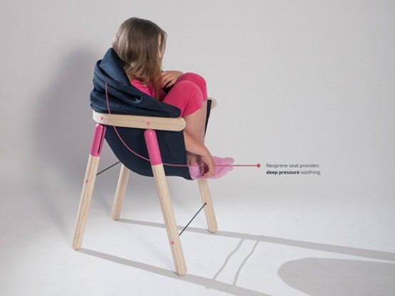 Soothing Chair Stylish Sensory Seating For Kids