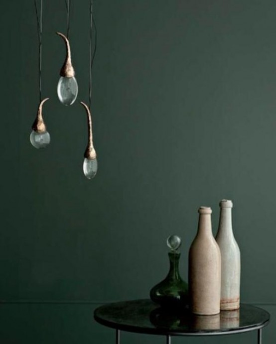Sophisticated Lamps With Drops Of Light