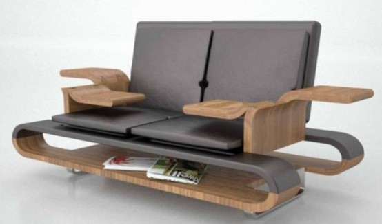 Space Saving Multi-Functional Sofa