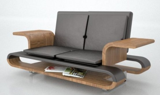 Space Saving Multi Functional Sofa