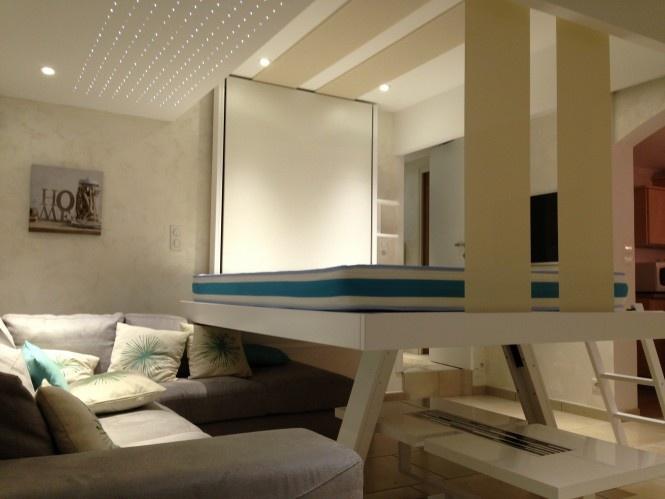 Space Saving Retractable Loft Beds