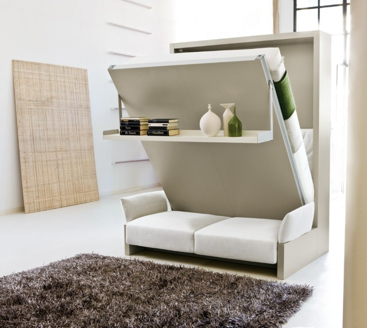 Space Saving Retractable Loft Beds