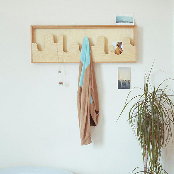 Space-Saving Wallmonds Coat Hanger For Small Hallways