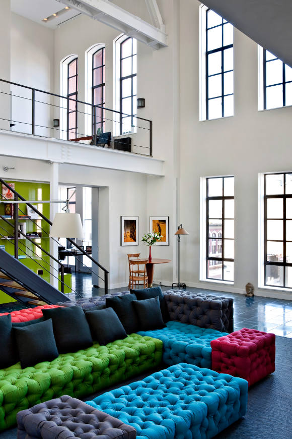 Spacious And Cozy Loft In An Industrial Building Digsdigs