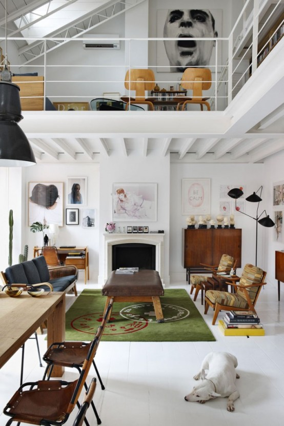 Spanish Dream Loft Design
